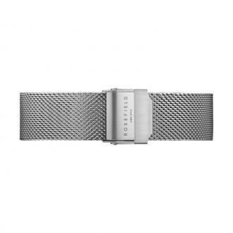 Bracelet de montre Rosefield Tribeca acier argenté TMSS-S127