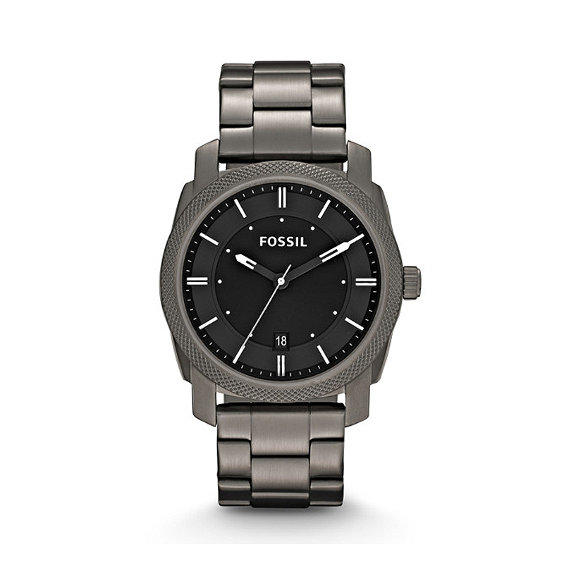 Montre Homme Fossil Machine grise FS4774