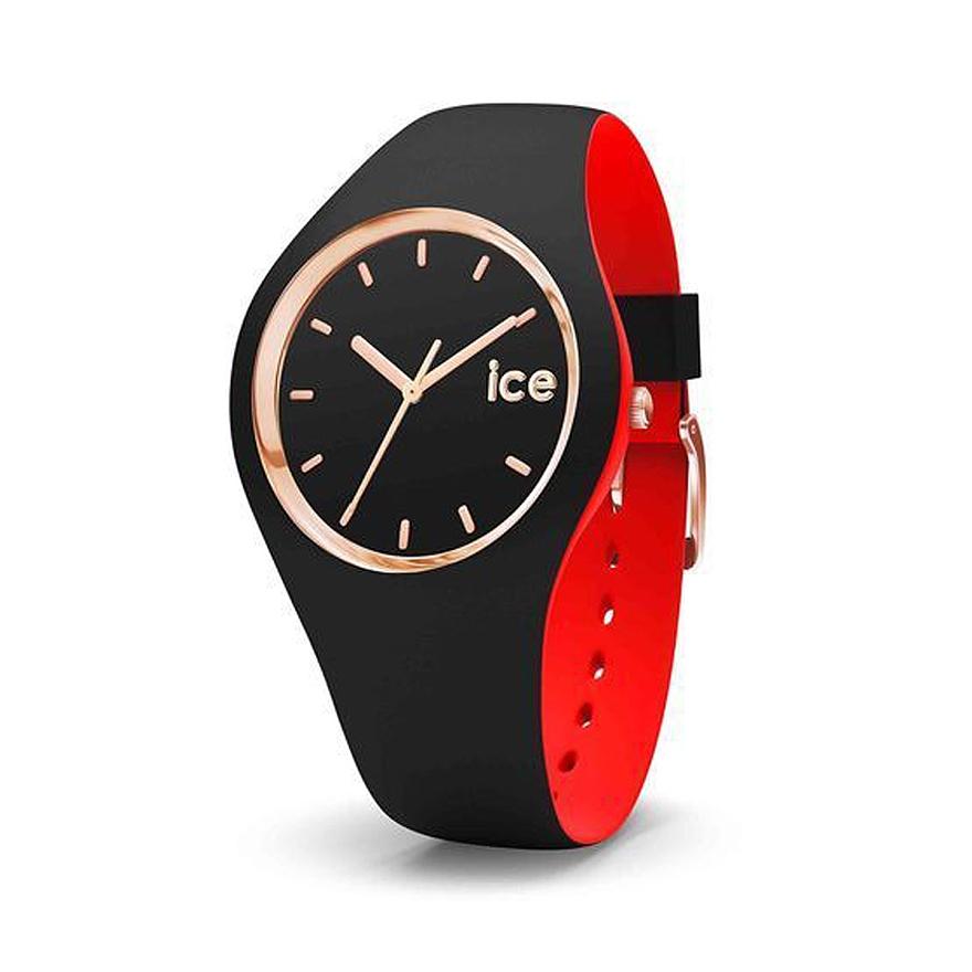 285600ee034190 Montre Ice-Watch Ice Loulou noire et rouge, dorée rose 007226 pour FEMME