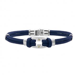 Bracelet Jourdan Bijoux pour homme en acier FZ 153 BEH