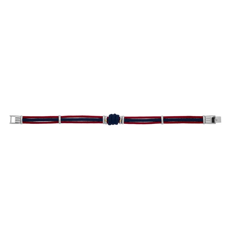 Bracelet Charles Jourdan Cordon, acier et or FZ 183 ROH