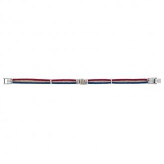 Bracelet Jourdan Bijoux acier et cordon FZ 180 H