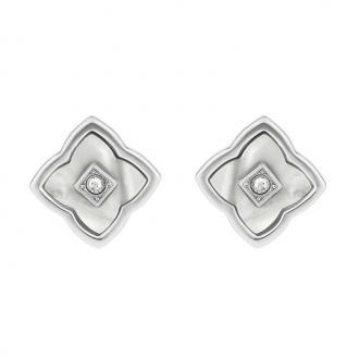 Boucles d'oreilles Adore 5303214 motif fleur en résine