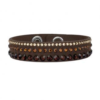 Bracelet ADORE simple tissu et cristaux Swarovski 5178633