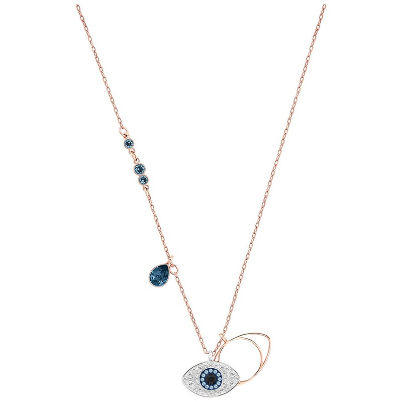 Collier Swarovski Evil Eye doré rose 5172560