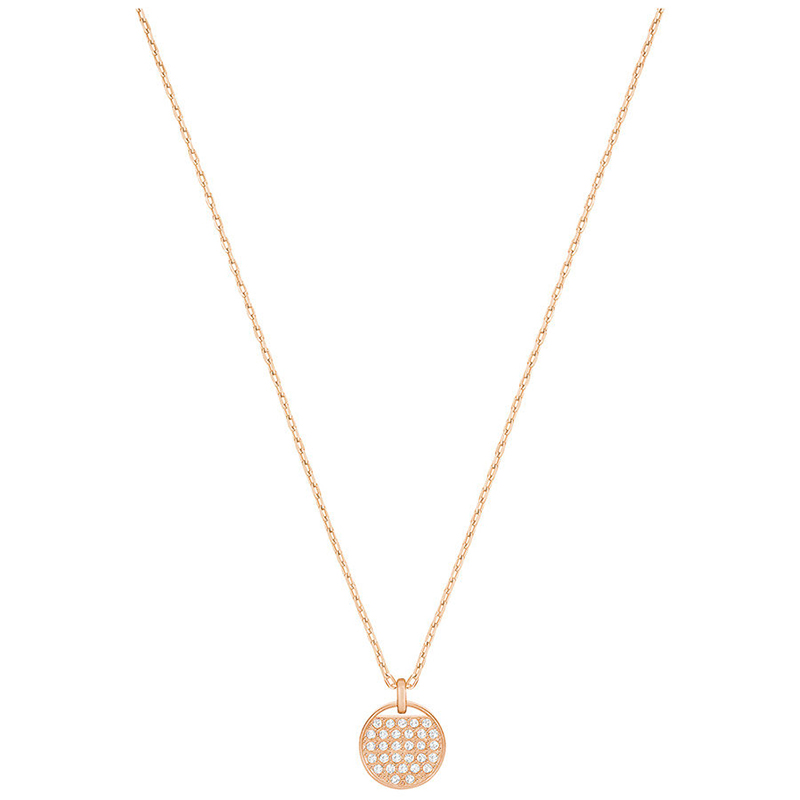 Collier Swarovski Ginger doré rose 5265913