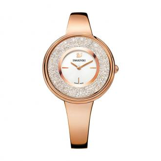 Montre Swarovski Crystalline Pure dorée rose 5269250