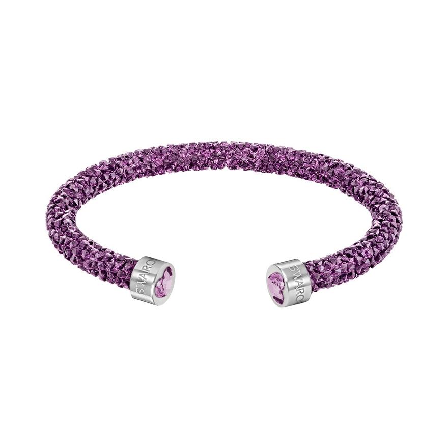 Jonc Violet Swarovski Crystaldust 5278499 Bracelet Ouvert Heart wkPXOiuTZ