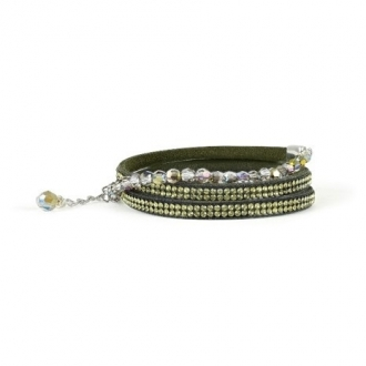Bracelet Adore 5237842 vert kaki