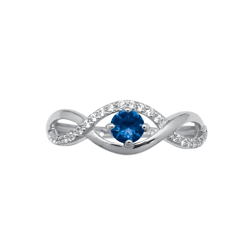 bague carador style joaillerie pierre bleue et argent 925 000 pour femme. Black Bedroom Furniture Sets. Home Design Ideas