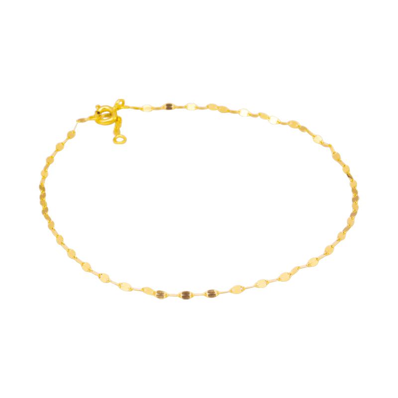 bracelet cheville or femme