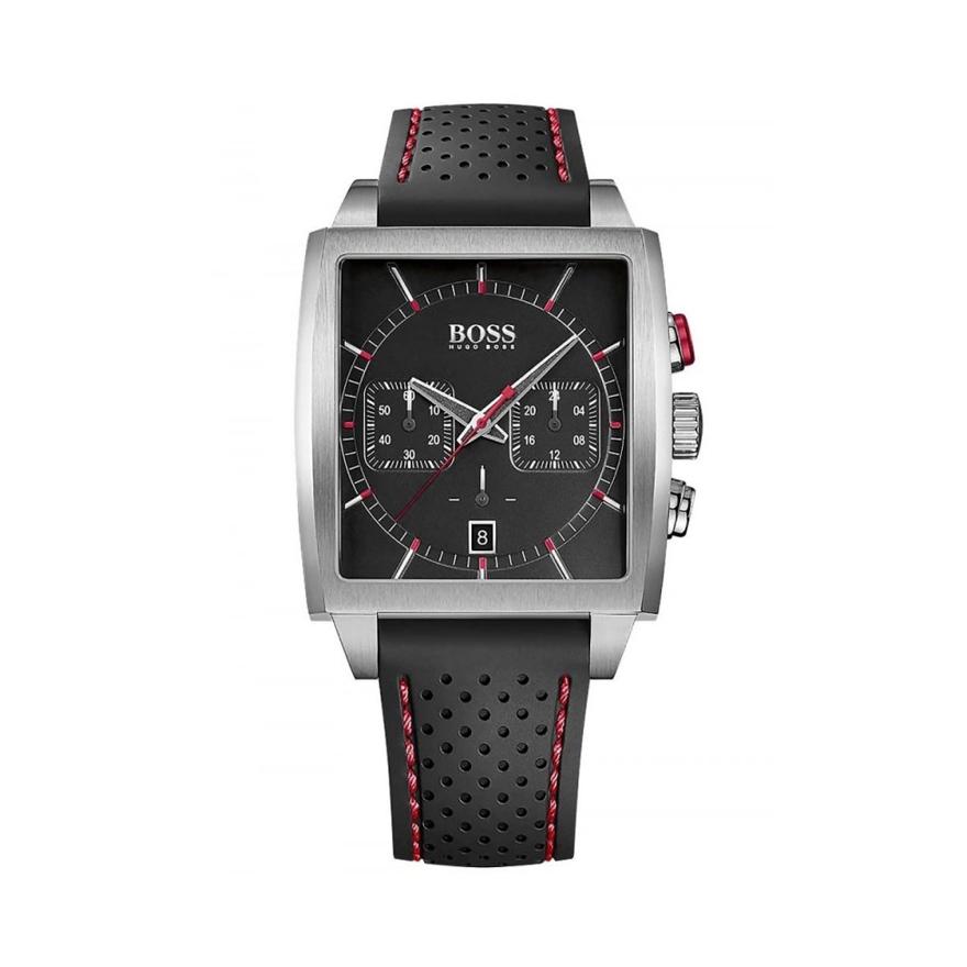 99df4b38f08 Montre Homme Hugo Boss Chronomètre noire 1513356 pour HOMME