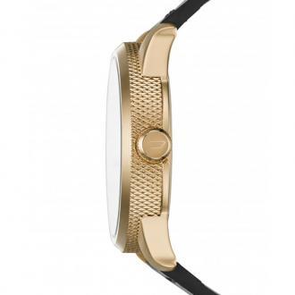 Montre Homme Diesel Rasp noire et dorée DZ1801