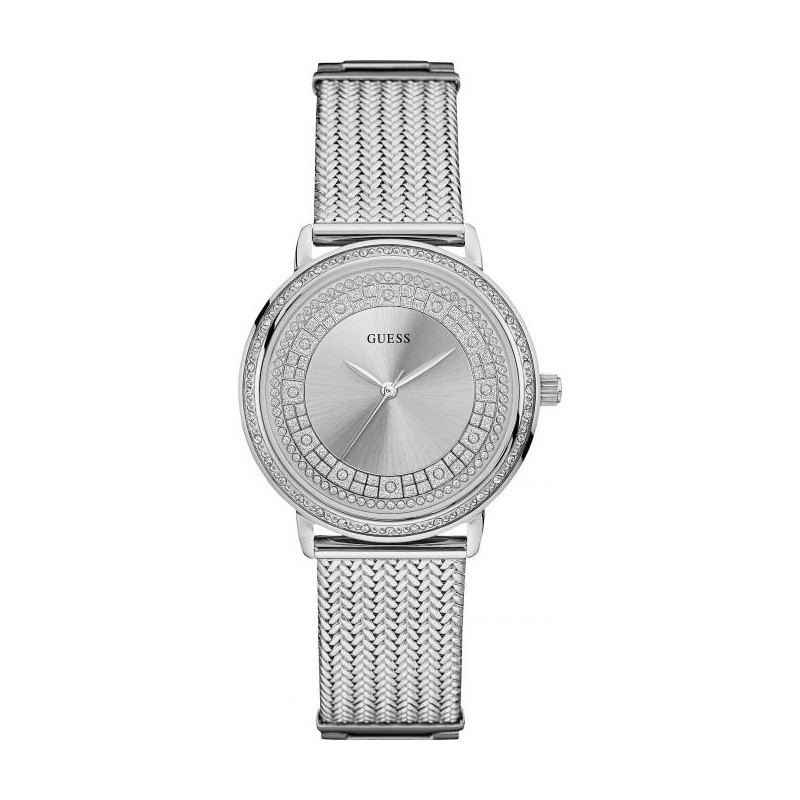 Montre femme Guess Willow argentée W0836L3