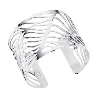 Bracelet Les Georgettes Wave Large finition argent brillant 70295881600000