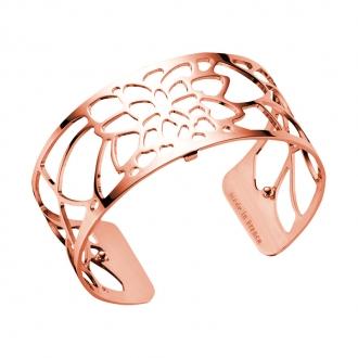 Bracelet Les Georgettes Nenuphar Medium finition or rose brillant