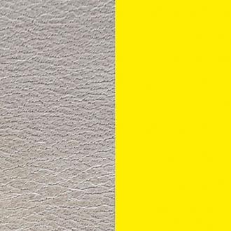 Cuir pour manchette Medium Les Georgettes Azure/Jaune fluo 702755199AY000