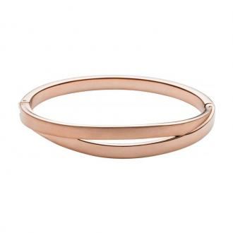 Bracelet Jonc Skagen Elin doré rose SKJ071591