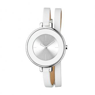 Montre Femme Elixa Finesse cuir blanc E063-L194