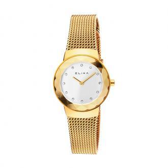 Montre Femme Elixa Beauty milanaise dorée E090-L343