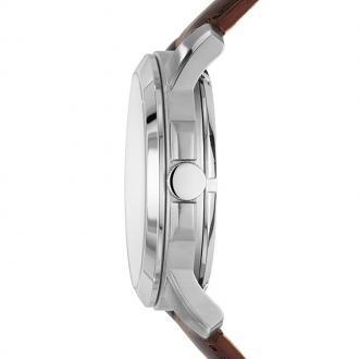 Montre Homme Fossil Grant Automatique cuir marron ME3099