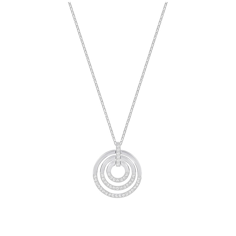 Collier Femme Swarovski Circle Medium argenté 5290187