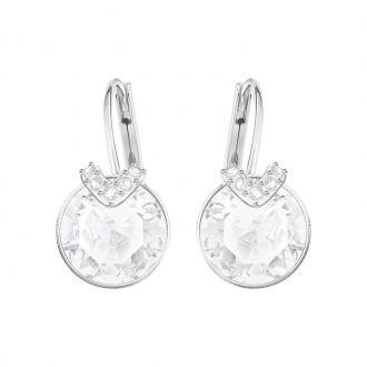 Boucles d'oreilles Swarovski Bella V argentées et cristal incolore 5292855