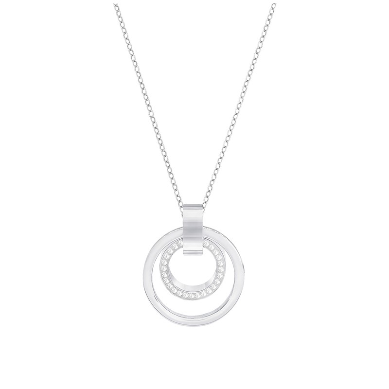 Collier Femme Swarovski Hollow Medium argenté 5349345