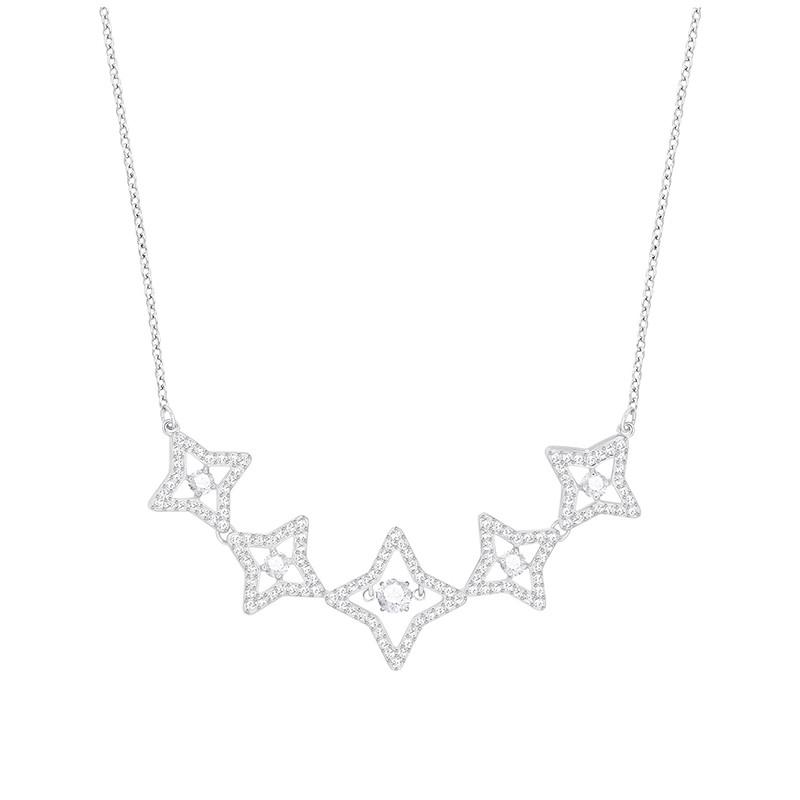 Collier femme Swarovski Sparkling DC Medium Star 5349663