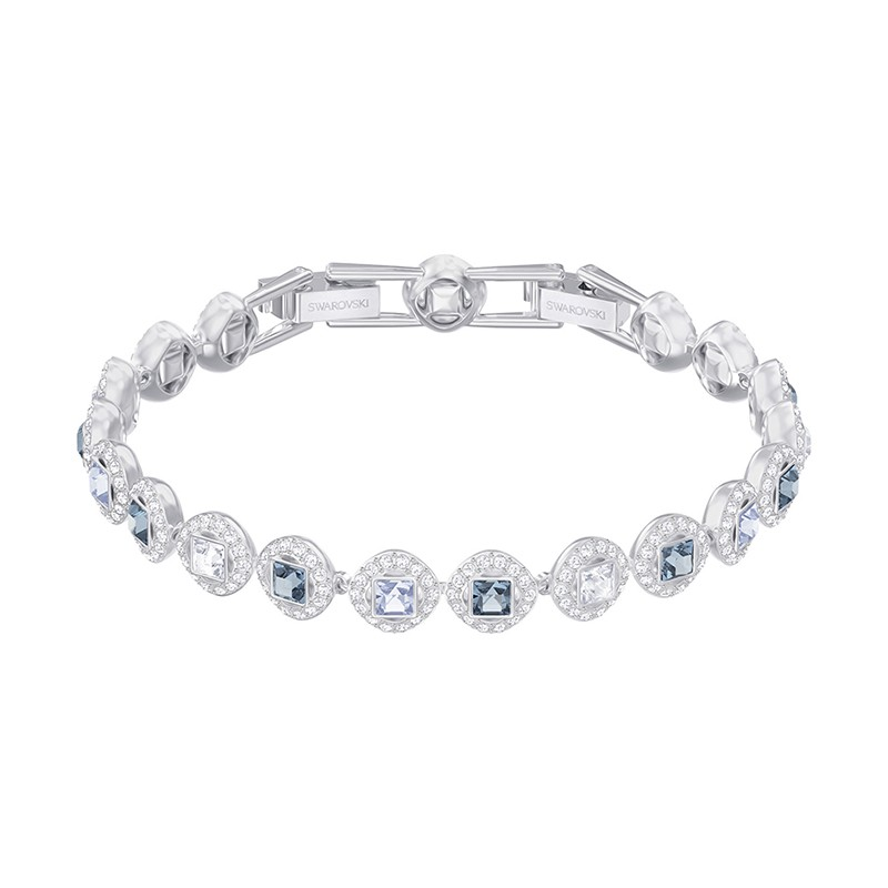 Bracelet femme Swarovski Angelic Square argenté 5289514