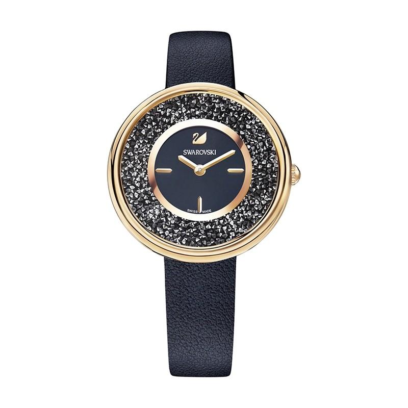 Montre femme Swarovski Crystalline Pure noire 5275043
