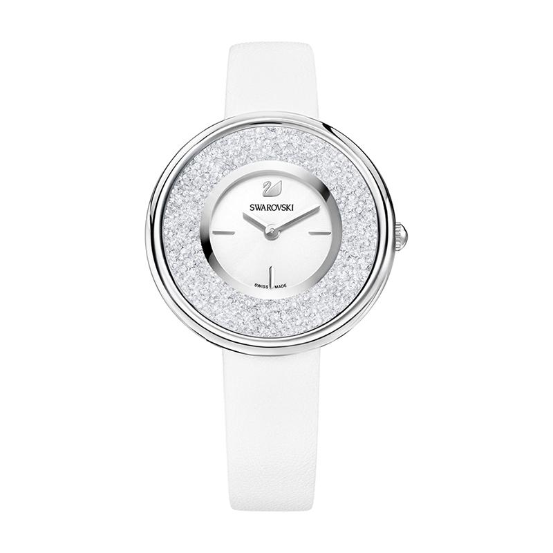 Montre femme Swarovski Crystalline Pure blanche 5275046