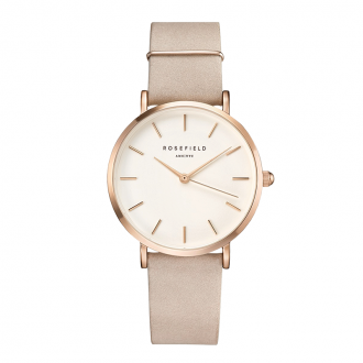 Montre Rosefield West Village or rose et rose tendre WSPR-W73