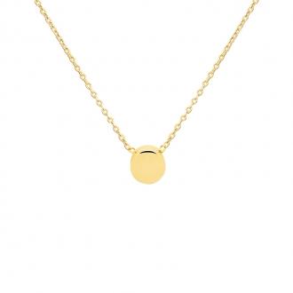 Collier Carador Or jaune 375/000 forme géométrique tendance