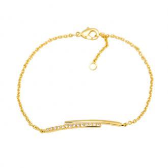 Bracelet Carador Femme Plaqué Or jaune Duo