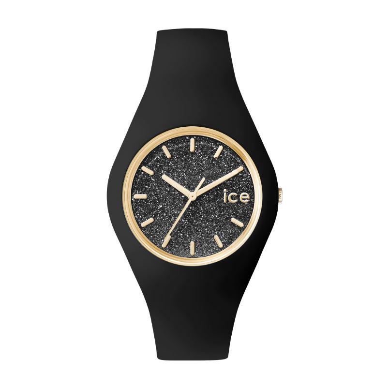 Montre Ice Glitter noir Taille Medium 001356