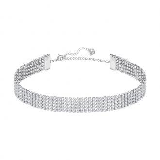Collier ras-de-cou Swarovski Fit métal plaqué palladium 5299886