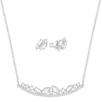 Parure Swarovski Henrietta métal rhodié 5351314