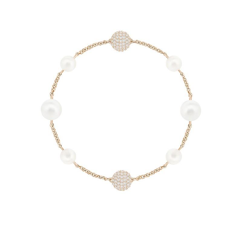 Bracelet Swarovski White Crystal pearl 5365738