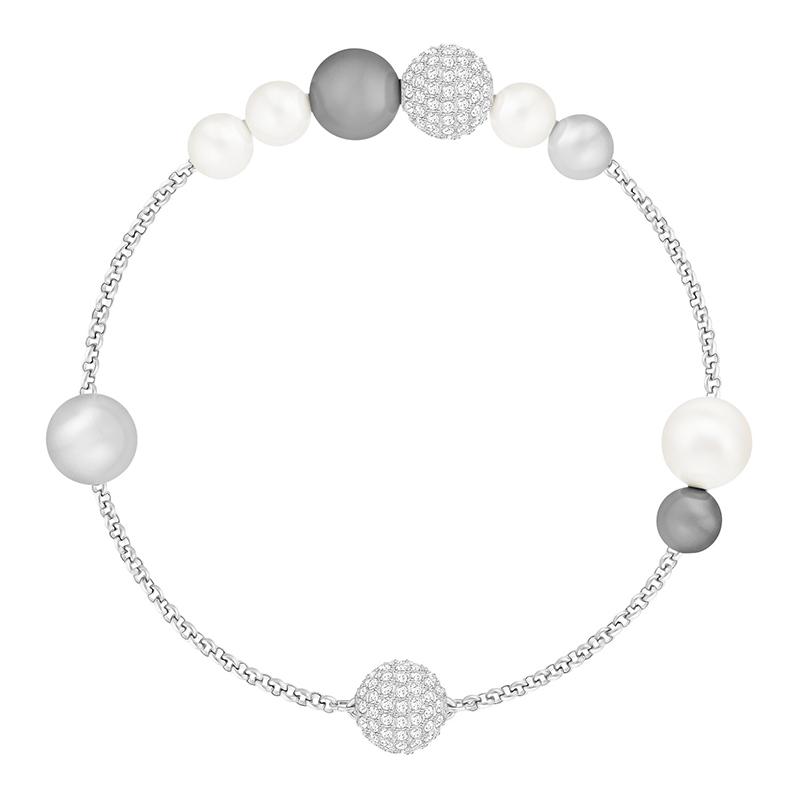 Bracelet Swarovski Mixed gray Cristal 5365739