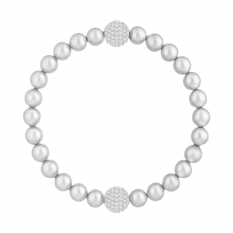Bracelet Swarovski Remix Crystal Pearl Gris 5364103
