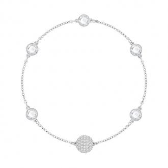 Bracelet Swarovski Remix Timeless blanc 5353726