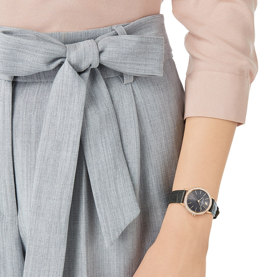 Montre femme Swarovski CGraceful mini grise 5295352