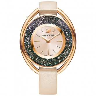 Montre Swarovski Crystalline Oval rose 5296319