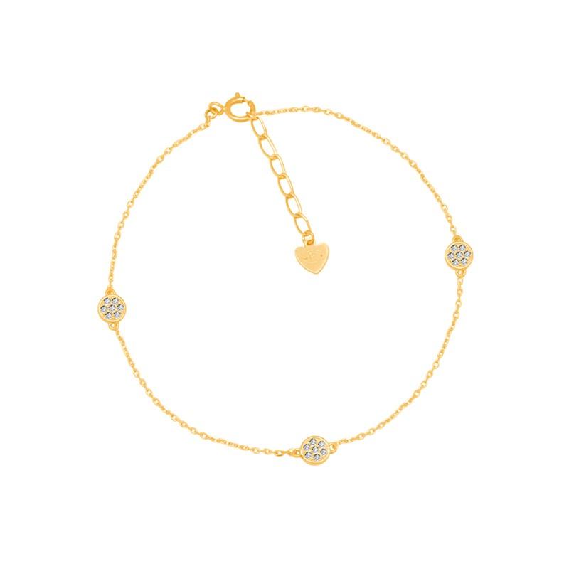 Bracelet Carador Femme Or jaune 375/000e trio