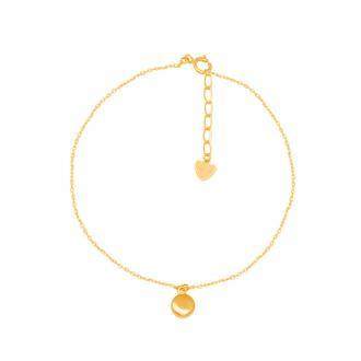 Bracelet Carador Or jaune 375/000e forme géométrique tendance