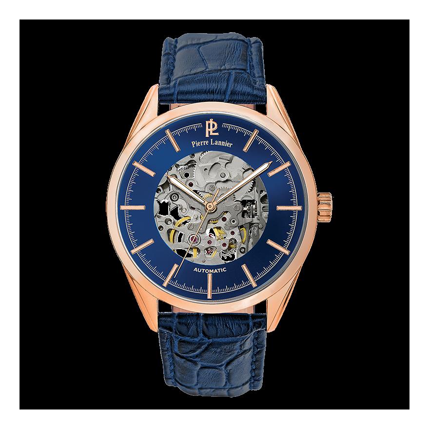 Montre homme Pierre Lannier Week-end Automatic bleue 307C066 pour HOMME 03608e65c298
