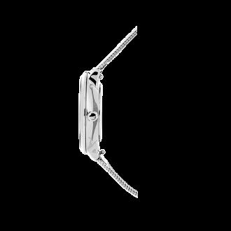"""Montre Pierre Lannier """"La Petite Cristal"""" milanaise argentée 107J608"""