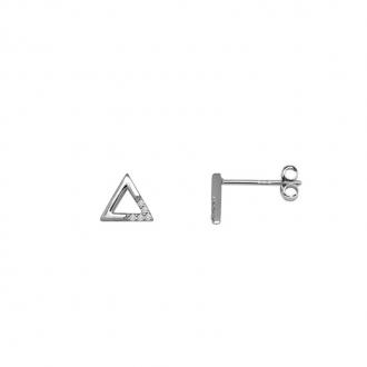 Boucles d'oreilles Femme Silver Pop triangle argent 925/000