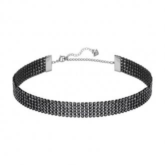 Collier ras-de-cou Swarovski Fit cristaux noirs 5355185